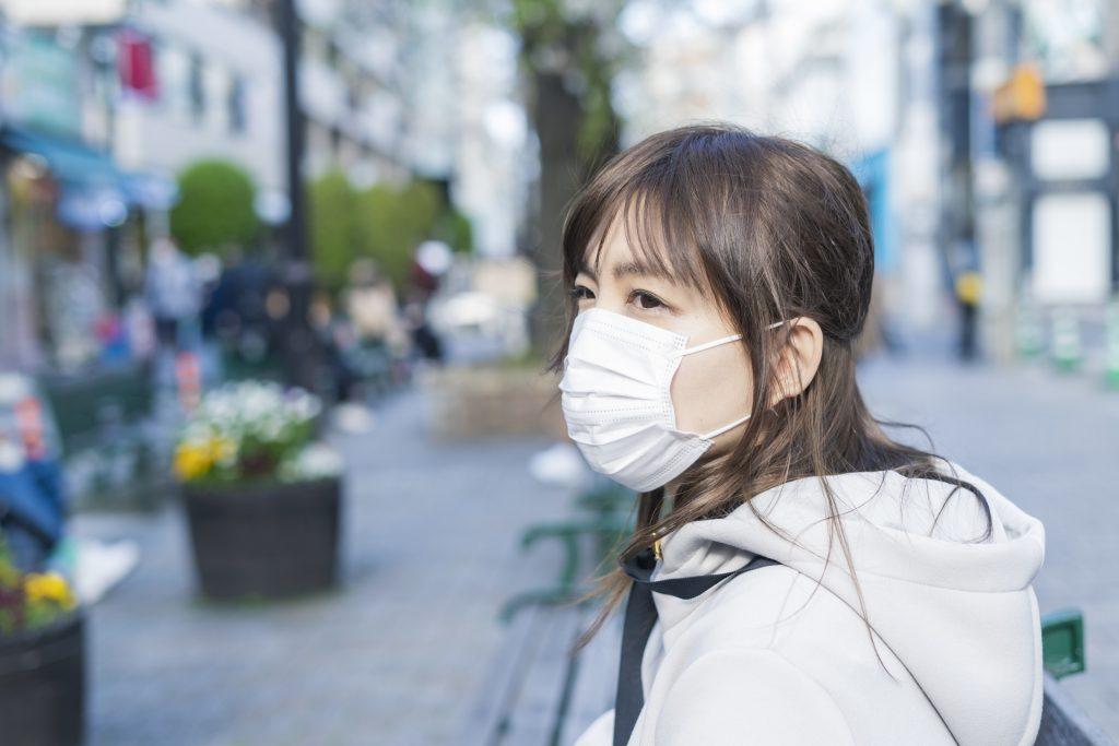 To keep your safety 新型コロナウィルス COVID-19 social distances Tokyo Backstreets Bike Tour