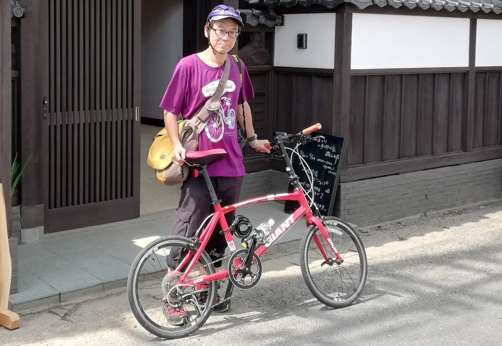 English tour guide Tokyo Backstreets Bike Tour