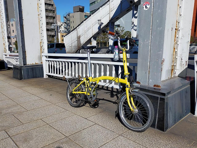 自転車 裏路地 Tokyo Backstreets Bike Tour ツアー サイクリング ポタリング 東京 下町 江戸 町歩き クルーズ ブロンプトン Brompton 浅草 築地 月島 佃島 銀座