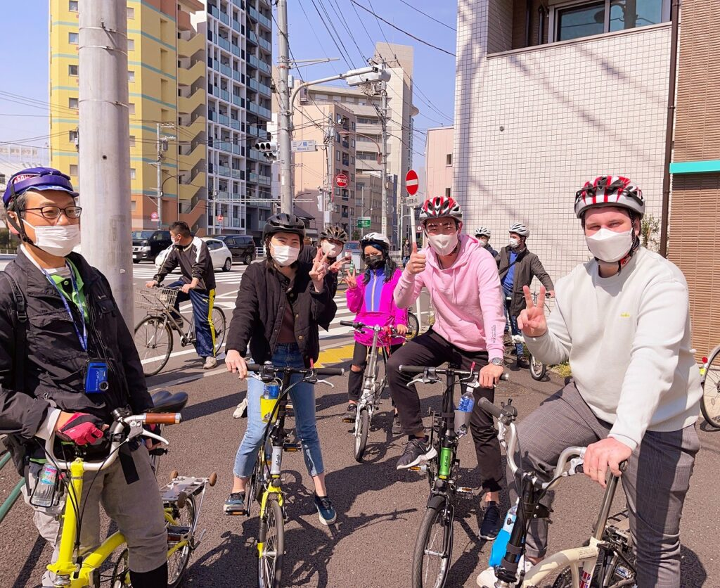 bike tour tokyo backstreets cycling private english guide